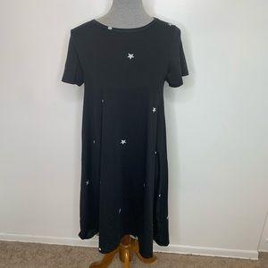 ⭐️3/$25⭐️ Lularoe Stars Carly high low dress